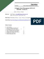 Northwestern Opns Syllabus Fall04