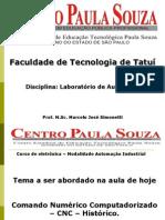 Apresentação CNC - Aula 1