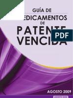 Guía Medicamentos Patente Vencida PN PTS