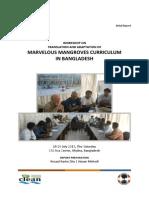 Workshop on Marvelous Mangroves Curriculum in Bangladesh 2013