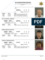 Peoria County booking sheet 08/04/13