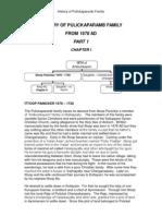 Pulickaparamb Family History