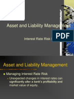ALM Interest Rate Risk Management