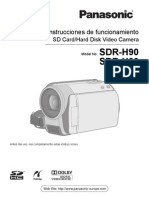 Panasonic SDR-H80-Manual de Instrucciones