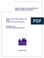 Providence Special Education Report