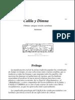 Annimo-Calila y Dimna