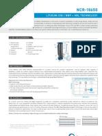 Panasonic NCR18650 Li-Ion Battery