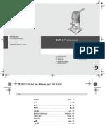 Bosch Gmr1 Manual