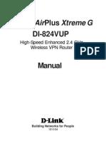 D-Link DI-824VUP Manual 07142005