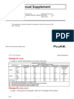 Fluke 179 Supplement Users Manual