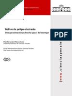 Fernando Villamor - Delitos de Peligro Abstracto