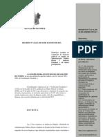 DECRETO N 23.627 CONTENÇÃO DESPESA GOVERNO RIO GRANDE DO ORTE
