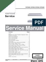 DVD PhilipsDVP3020 Service Manual