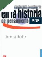 Bobbio, Norberto - La teoría de las formas de gobierno en la historia del pensamiento político