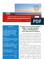 South China Sea Bulletin Vol.1 No.8 (1 August 2013)
