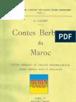 Contes Berbères du Maroc - E.Laoust 1/2