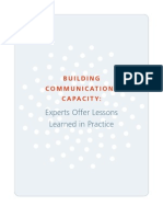 Building Communications Capacity