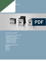 Catalogo Contactores Siemens