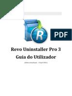 Versão traduzida de Revo Uninstaller Pro Help