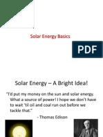 Basics of SOLAR-8