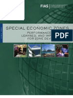 SEZs - Performance, Lessons Learned and Implications for Zone Development