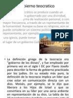 Gobierno teocratico (1)