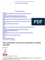 Basic Pneumatic and Electro Pneumatics Working Principle - Free eBooks Download
