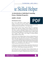 The Skilled Helper Lecture