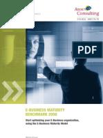AtosConsulting Whitepaper eBusiness Maturity Benchmark 2008 Uk