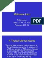 Mithraism Intro