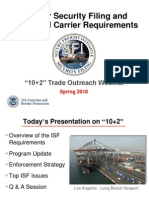 10 + 2 Importer Security Filing