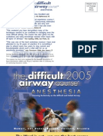 The Difficult Airway Course - Anesthesia