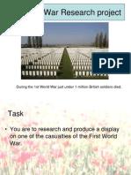 1a.1st World War Research Project (BSAK)