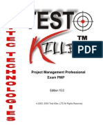 24858698 Project Management Professional Exam PMP