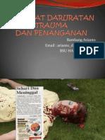 Kegawat Daruratan Trauma