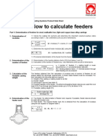 31947377 How to Calculate Feeders