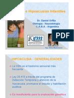Genetica e Hipoacusias Infantiles