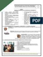 Taller de Implementacion de Las Rutas de Aprendizaje 2013 UGEL CH