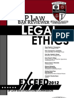 Legal Ethics Up 2012