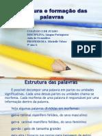 estruturadaspalavrasmichelle-110409052001-phpapp01