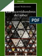 las incertidumbres del saber Immanuel Wallerstein.pdf