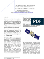 The Design and Performance of a Power System for the Galileo System Test Bed GSTB-V2A