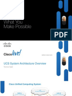UCS System Architecture Overview BRKCOM-1005