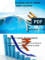 Rupee Depreciation and Its Impact on Indian Economy