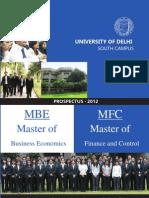 MBE-MFC Prospectus 2012