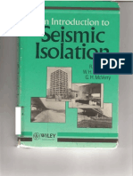 An Introduction to Seismic Isolation,R. Ivan Skinnerl , William H. Robinson,And Graeme H. McVerry