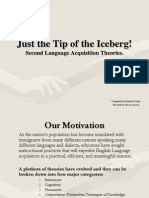 Tip of the Iceberg Language Acquisition Theories