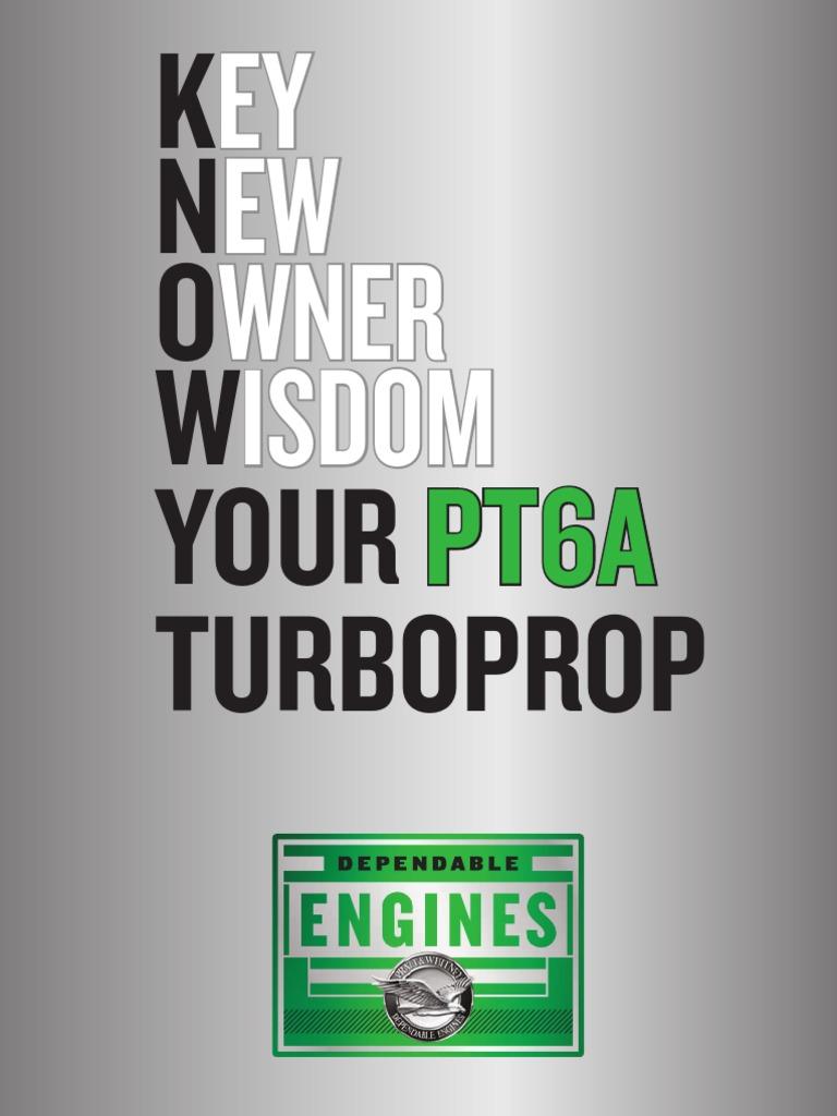 Pt6 Manual | Transmission (Mechanics) | Gas Compressor