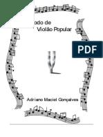 Adriano Maciel Goncalves Metodo de Violao Popular