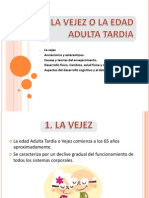 LA VEJEZ O LA EDAD ADULTA TARDIA.pptx